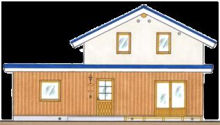 東川町_スマートログハウス